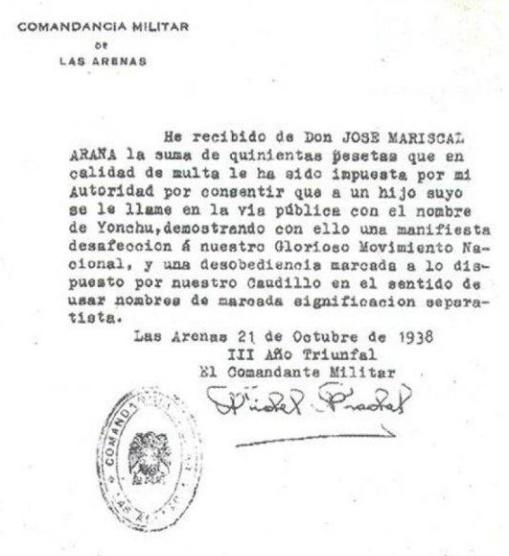Sanció 1938