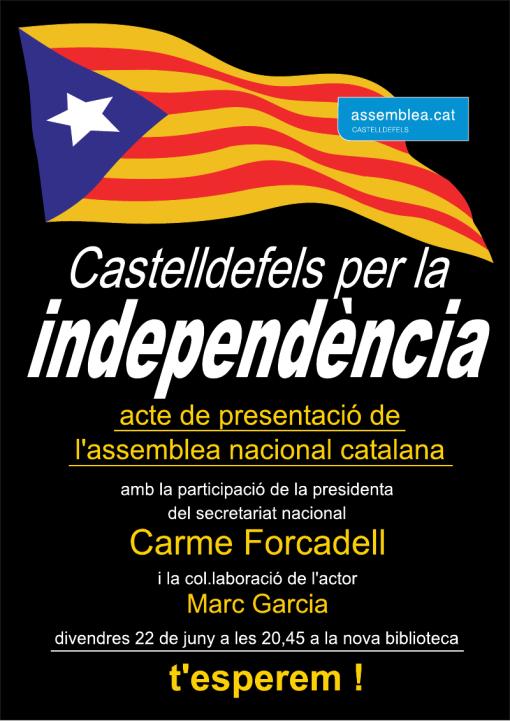 Presentació ANC Castelldefels