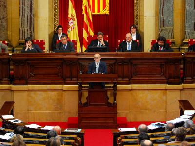 Joan Sola al Parlament